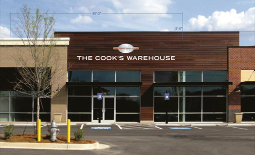 The Cook's Warehouse, Chamblee | Rendering courtesy of The Cook's Warehouse