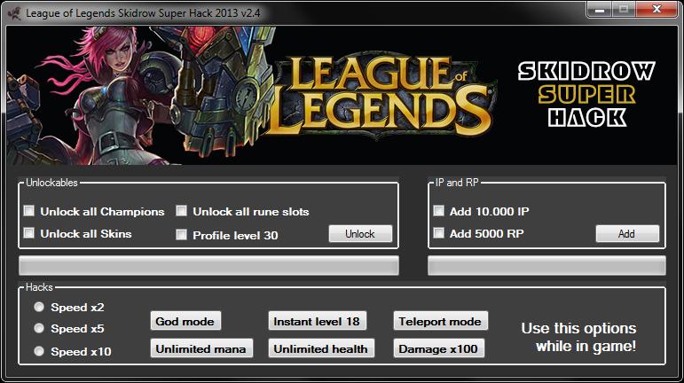 League Of Legends Hack 2020