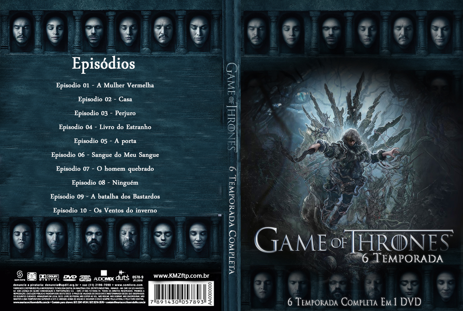 Game Of Thrones 6º Temporada Completa DVD-R Game 2BOf 2BThrones 2B6 2BTemporada 2Bcapa 2B2