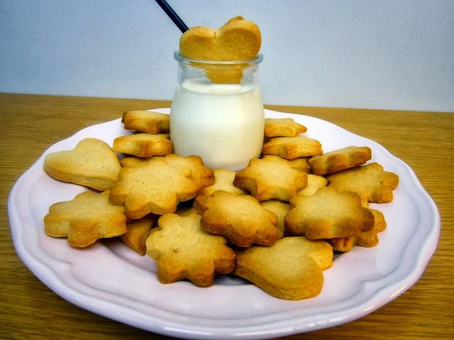 Galletas de Mantequilla ( pastitas de te )