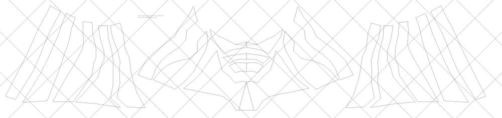 How To Make Batman V Superman Dawn Of Justice Mask DIY Free PDF