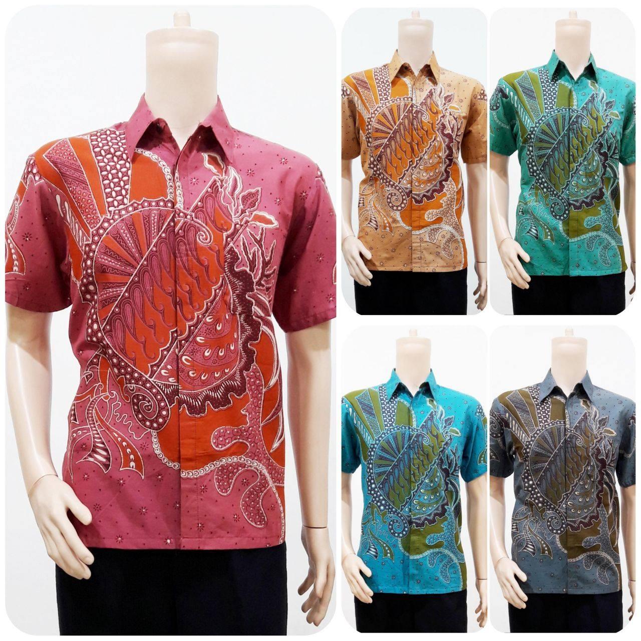 Batik Bagoes Solo Jual Baju Batik Pria Lengan Pendek