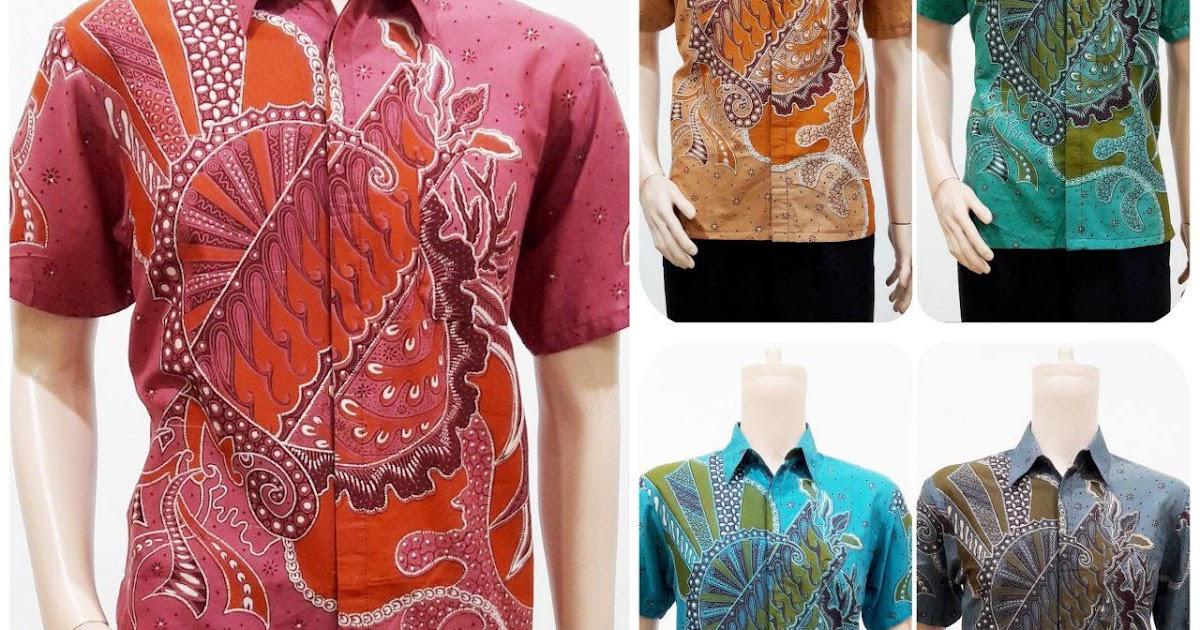Batik bagoes solo jual baju batik pria lengan pendek Jual baju gamis untuk pria