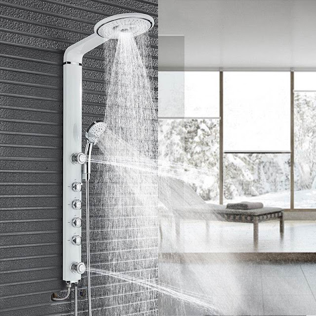 shower panels and massagers  furniture