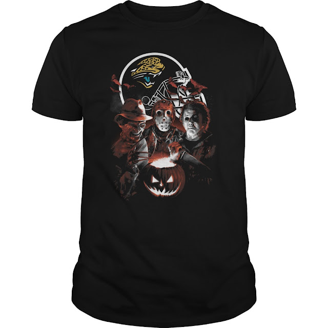 Jacksonville Jaguars Halloween Scream Team Shirt