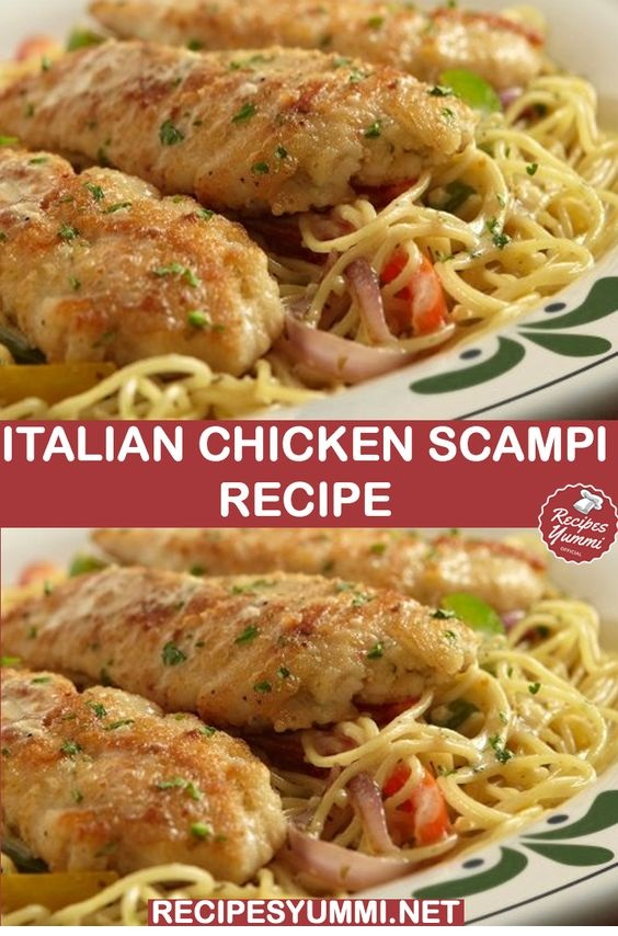 Italian Chicken Scampi Recipe