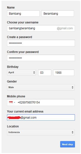 Cara Membuat Email (Gmail)