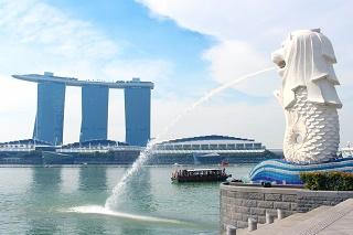 マーライオン(シンガポール)写真
