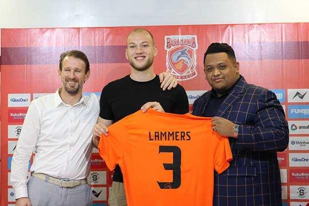 Jan Lammers Borneo FC