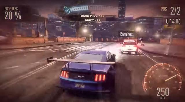 Juego de carreras de coches Need for Speed: No Limits