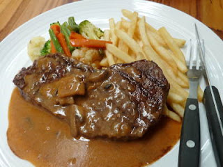 Cara membuat wagyu steak