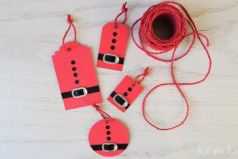 regalo packaging etiquetas navidad