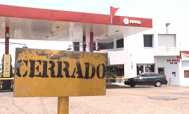 Largas colas por gasolina se siguen observando en Bolívar este 20Sep