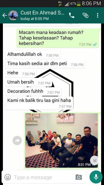 Adni Suite Homestay Seri Manjung || Encik Ahmad - Review