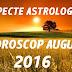 Aspecte astrologice în horoscopul august 2016