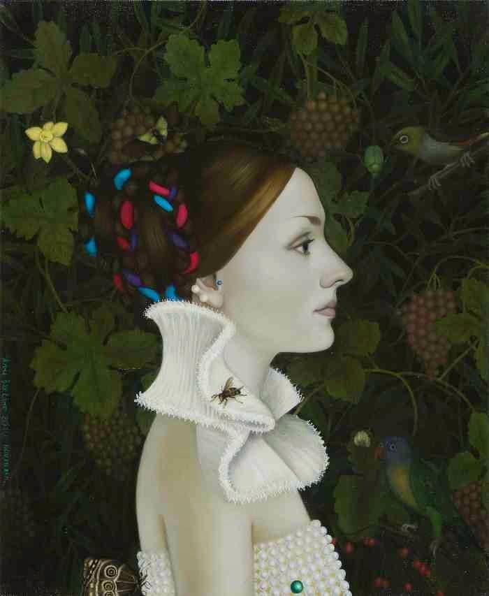 Латвийская художница. Anna Baklane