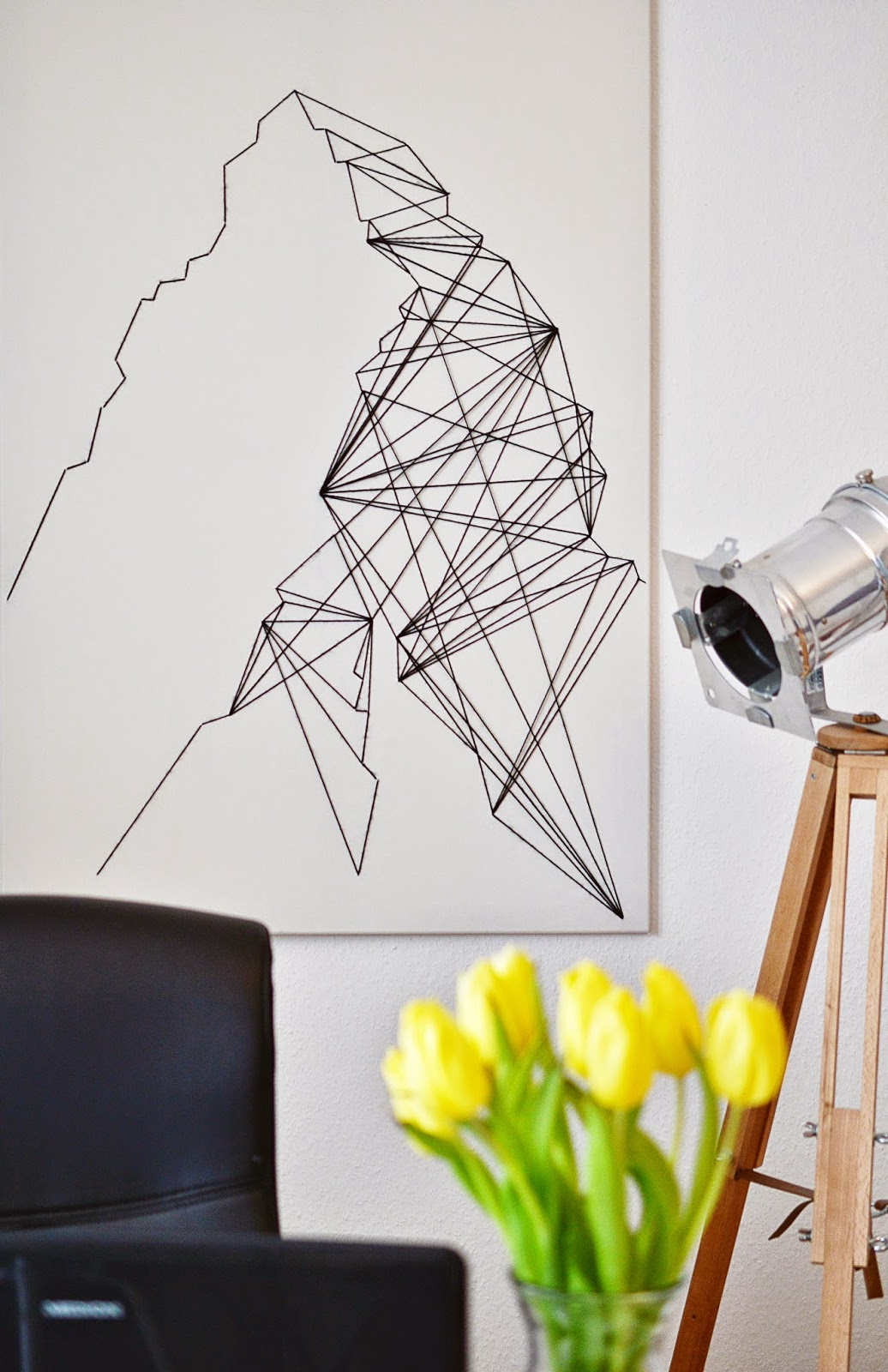 DIY Geometric String Art | Motteu0027s Blog & Math u0026 Other Headaches | DIY GEOMETRIC WALL ART - Motte