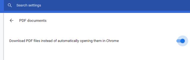 كيفية تعطيل عارض ملفات PDF الخاص بمتصفح جوجل كروم