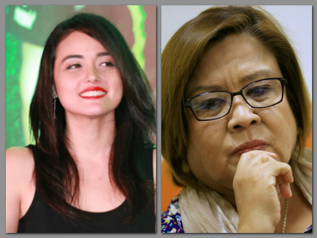 "WATCH: Kat Alano to De Lima: ""You ignored rape victims when I asked for help, do not use women as protection"""