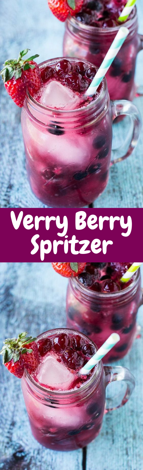 Very Berry Spritzer #Summer #Drink
