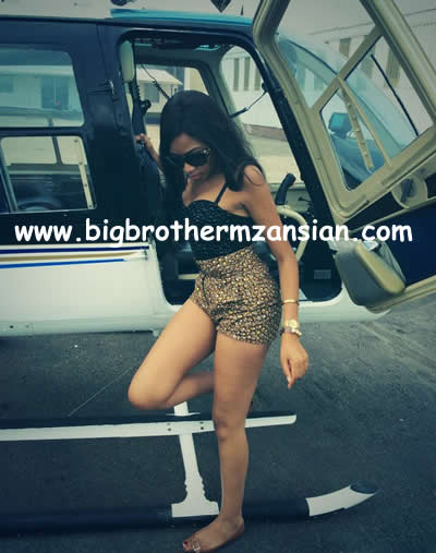 Blue Mbombo Taking Helicopter Flying Lessons 1