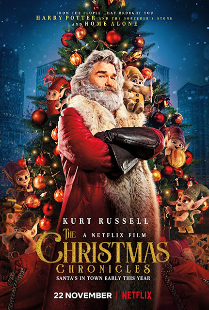 The Christmas Chronicles 2018 Netflix movie poster Kurt Russell
