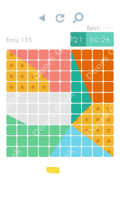 Cheats, Walkthrough for Blocks and Shapes Level 135