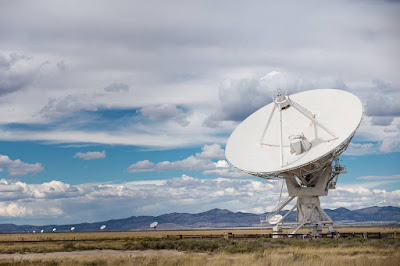 Very large array New Mexico by Laurence Norah