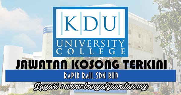 Jawatan Kosong 2017 di KDU College (PJ) Sdn Bhd www.banyakjawatan.my