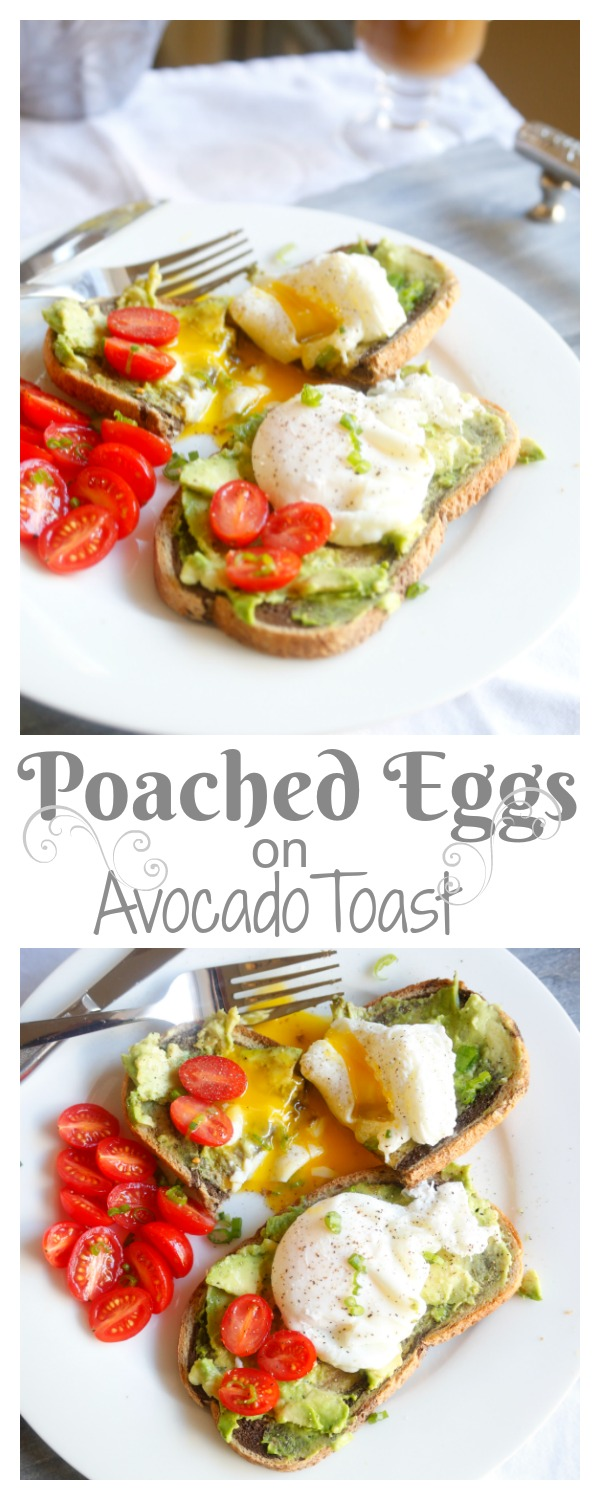 how to make avocado toast with poached egg