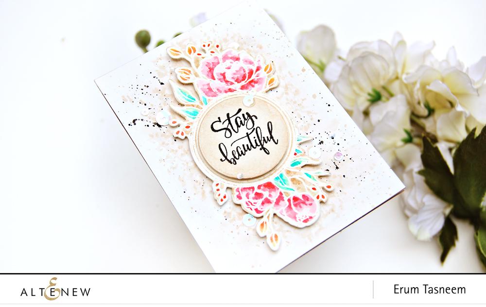 Altenew Book Club Stamp Set | Erum Tasneem | @pr0digy0