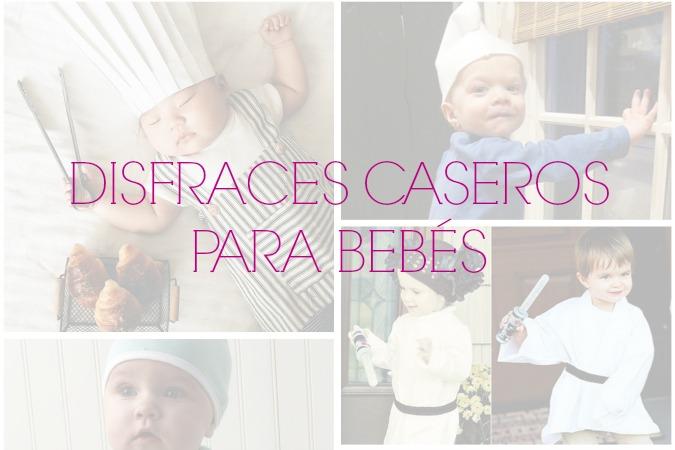 Disfraces caseros fáciles y rapidos para bebés