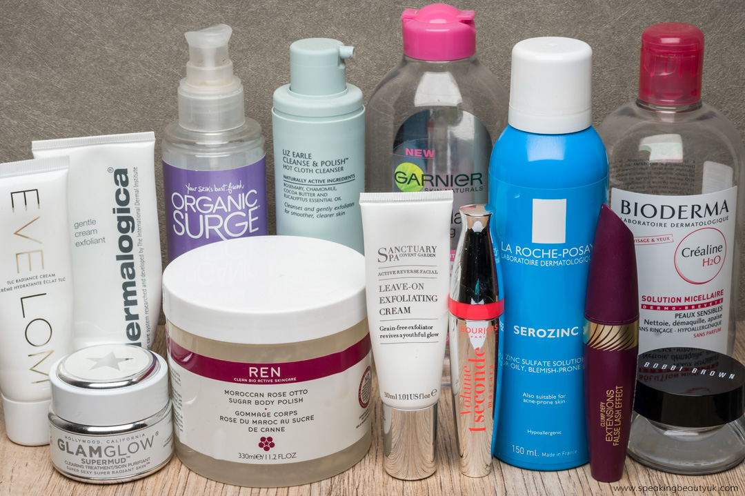 Beauty Skincare Empties Blog Post
