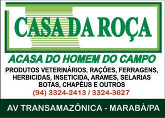 CASA DA ROÇA - MARABÁ PARÁ