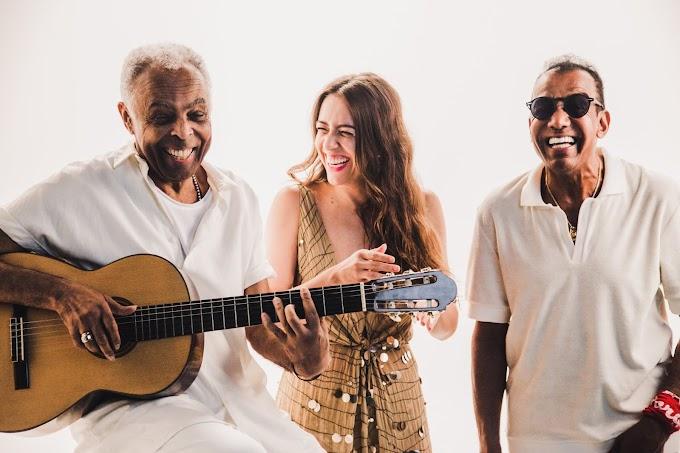 Roberta Sá reacende parceria de Gilberto Gil e Jorge Ben Jor com single inédito
