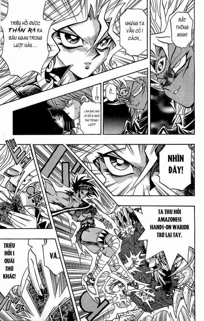 YUGI-OH! chap 221 - vị thần giáng thế trang 16