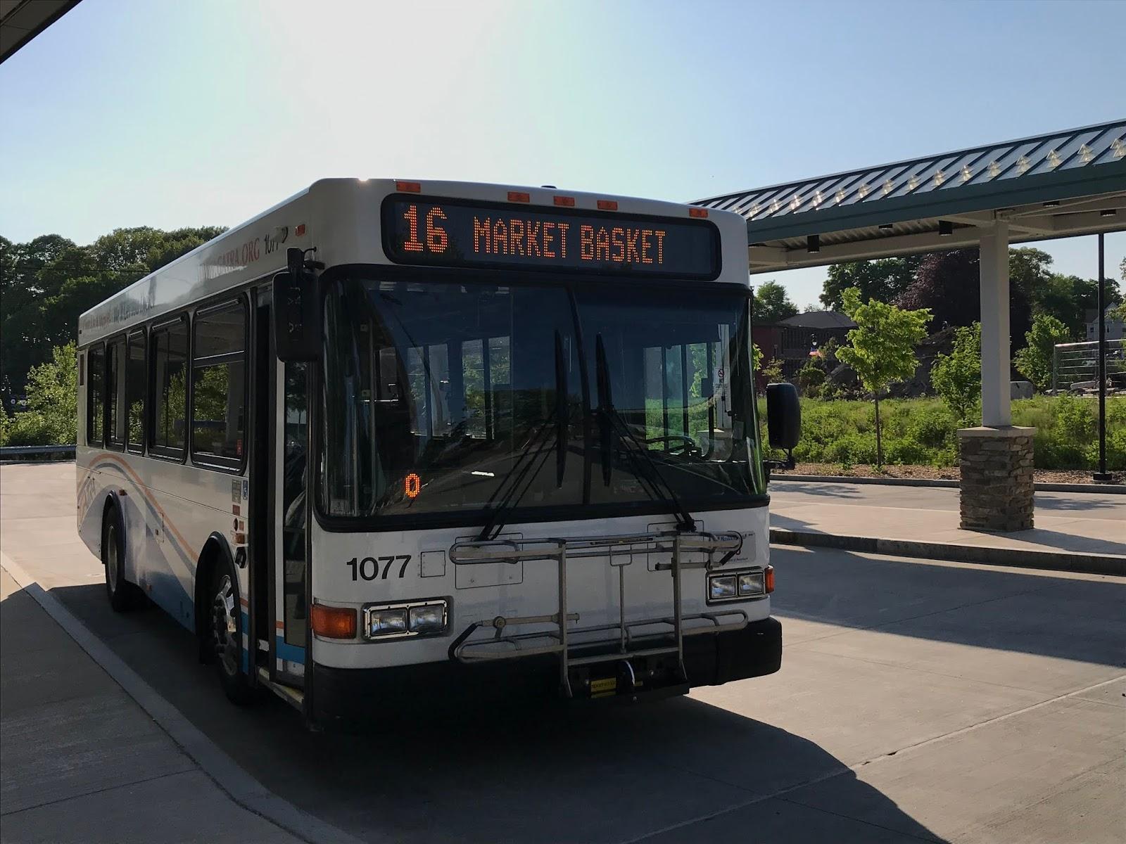 Miles on the MBTA: GATRA: 16 (Seekonk/Attleboro) - A K A  THE BUS