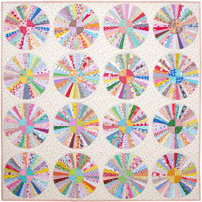 Carousel Quilt | Part 3 - A Finished Quilt | © Red Pepper Quilts 2017