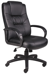 Boss High-back Leather Executive Chair