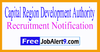 CRDA Capital Region Development Authority Recruitment Notification 2017 Last Date 22-07-2017
