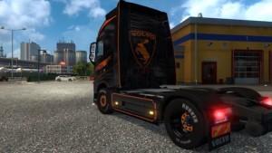Black Skin for Volvo 2012 truck