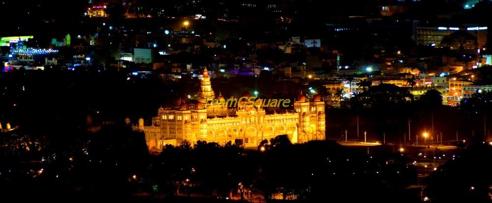 Mysore Palace, Chamundi Hills