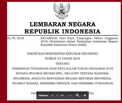 GAMBAR  Peraturan Pemerintah Nomor 19 Tahun 2018