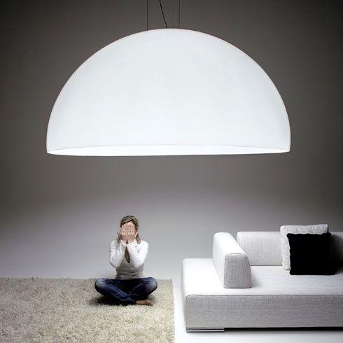 Diseño de lámpara creativa gigante