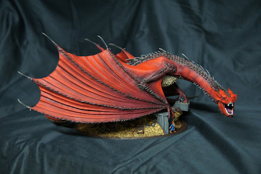 He is finally finished! (last update smaug)