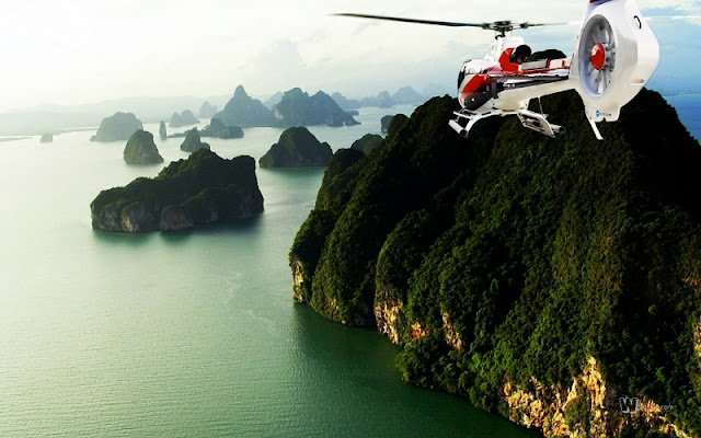 New seaplane flight explore Halong Bay
