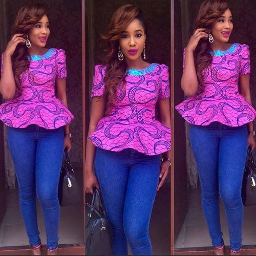 Modern Ankara styles for young ladies