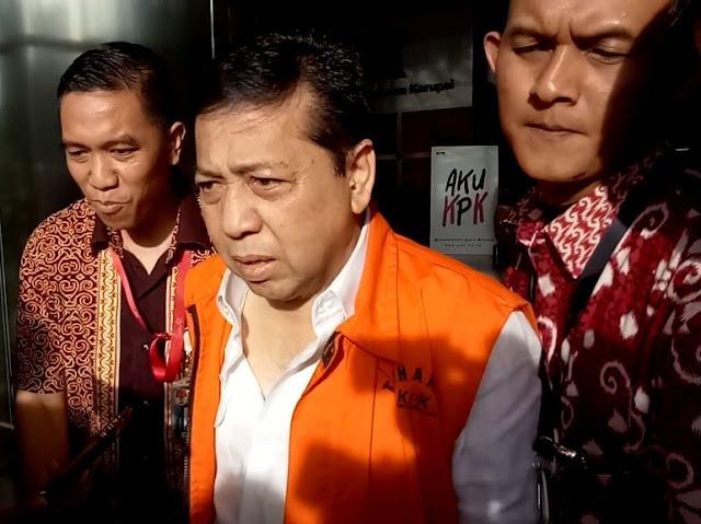 Setya Novanto Ditanya Soal Penggeledahan Rumah Saat Diperiksa MKD