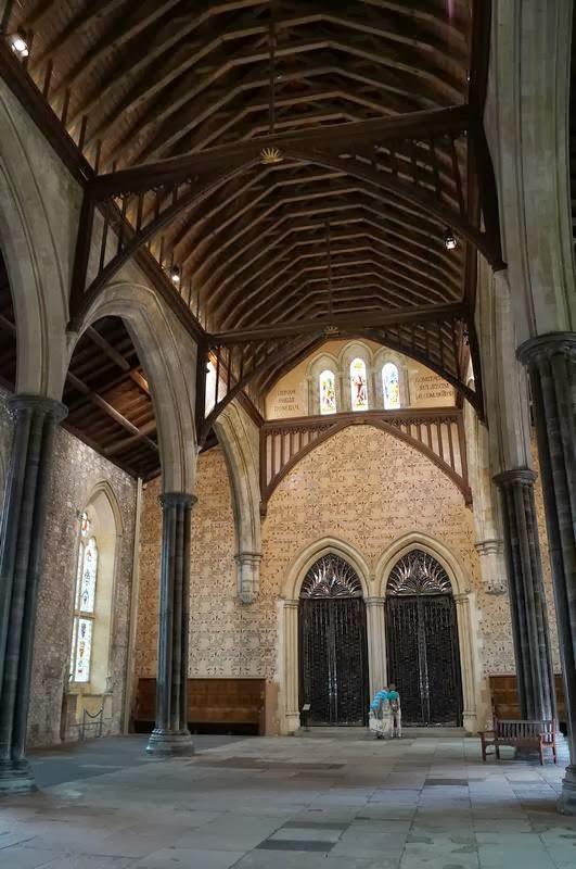 Great Hall Winchester, mesa redonda del rey Arturo, los caballeros de la mesa redonda
