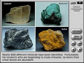 GEODe II Software interactivo de geologia y mineralogia captura 1